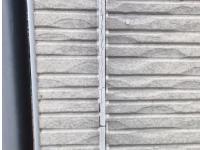目地コーキングが劣化した外壁