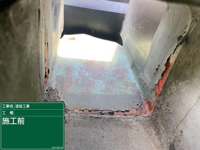 かすみがうら市でベランダの雨漏り補修。耐水性抜群!リボール防水でしっかりと補修しました