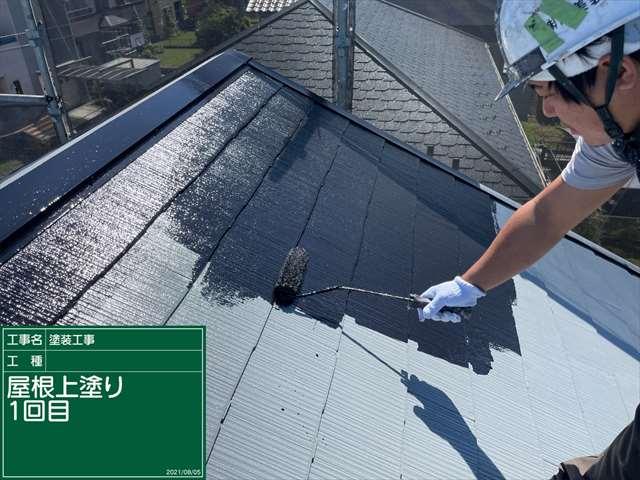 かすみがうら市で屋根塗装!外壁塗装前の補修も忘れません