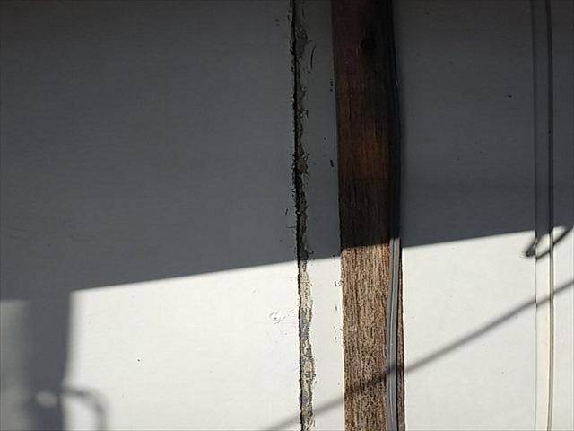 つくば市、金属サイディングの外壁シーリングを打ち替えして雨漏り対策!