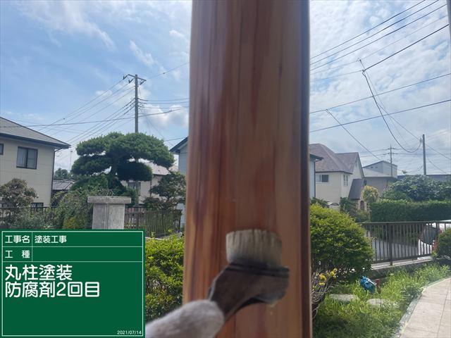 丸柱・防腐剤2回目0714_a0001(1)024