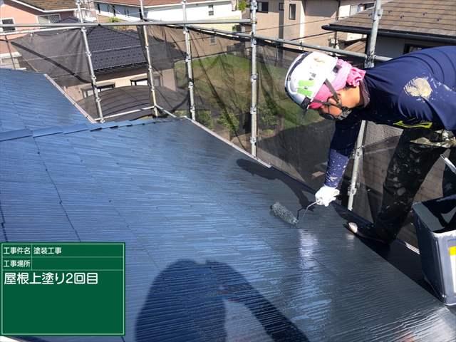 屋根上塗り2回目0426_a0001(1)007