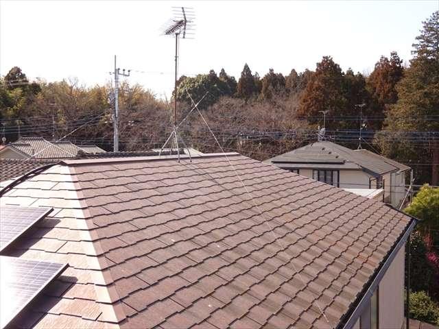 牛久市で雨漏り被害?!現地調査でスレート屋根の状態を確認!