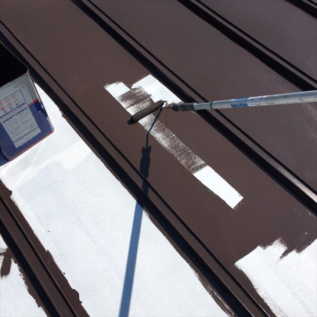 屋根中塗り20190601