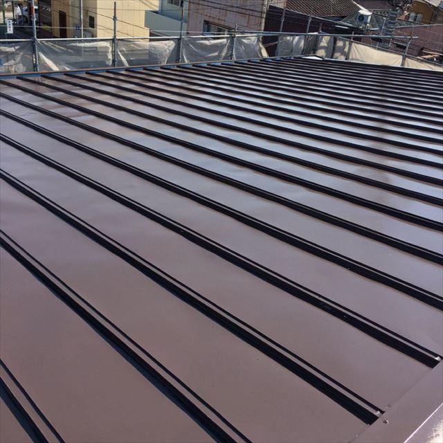 屋根中塗り完了20190601