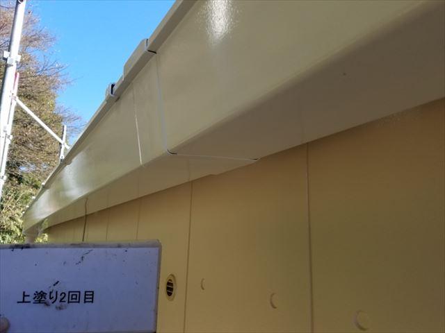雨樋塗装完了20190429