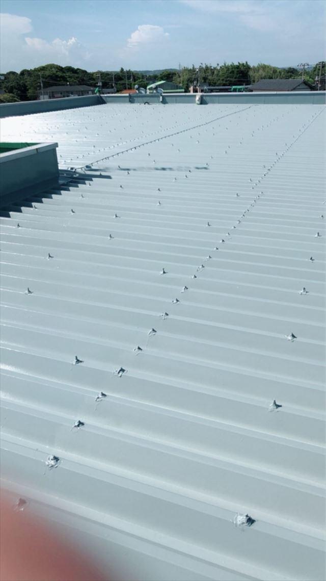 屋根塗装完了20190701