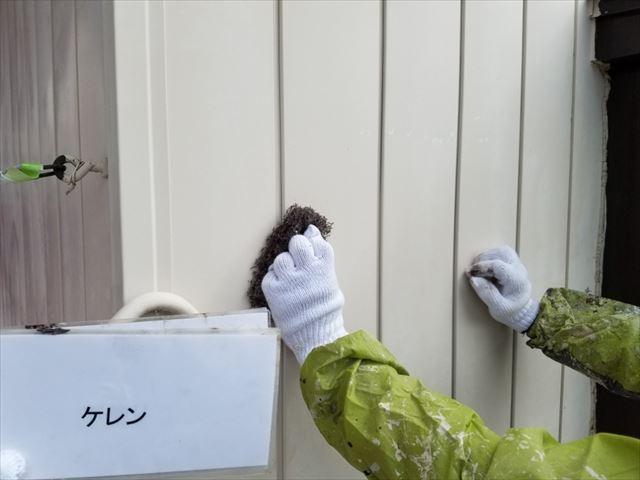 外壁ケレン