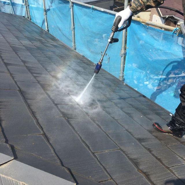 屋根洗浄20180304
