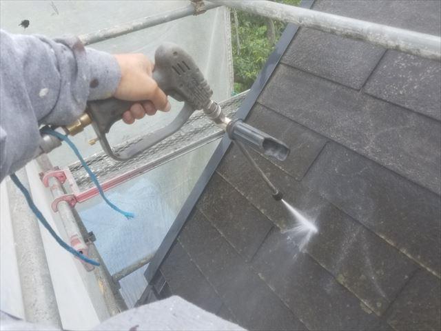 屋根洗浄20180314