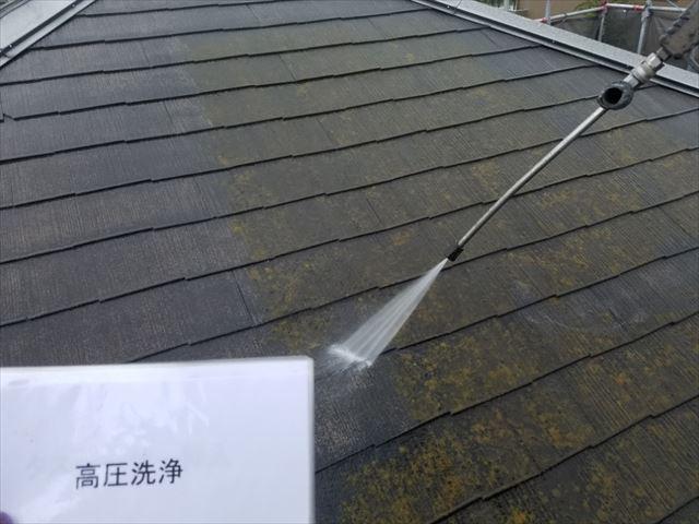屋根洗浄20190323