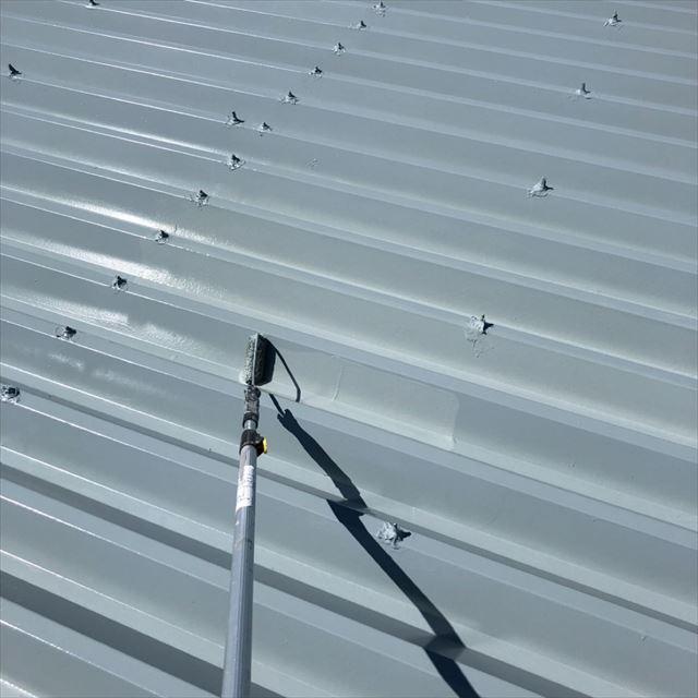 屋根上塗り20190701