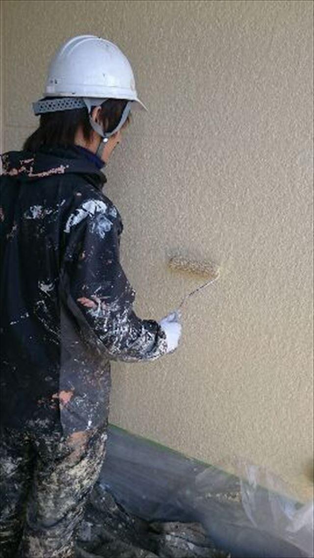 外壁上塗り20190304