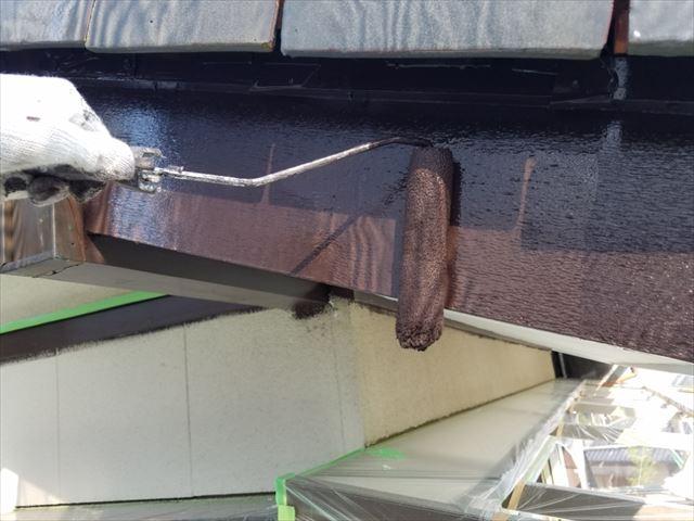 破風板施工