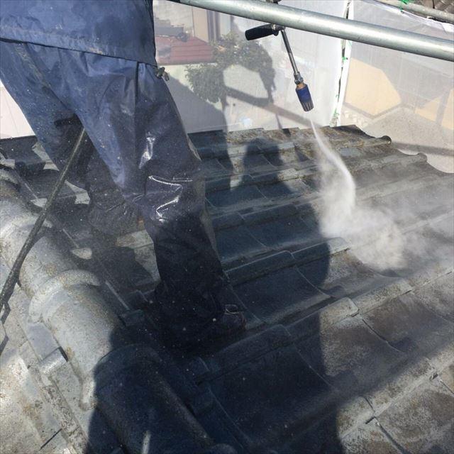 屋根洗浄20190301