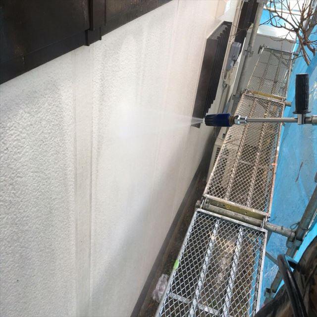 外壁洗浄20180304