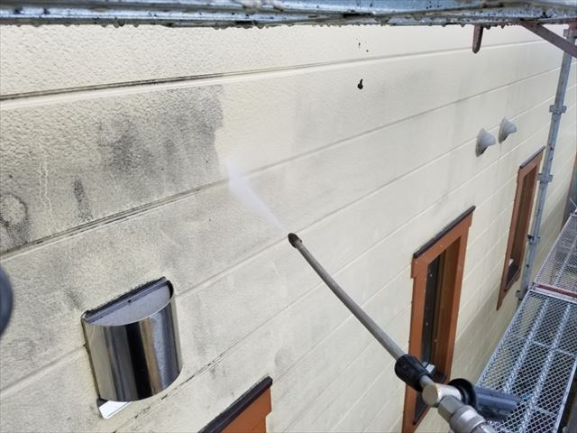 外壁洗浄20190318