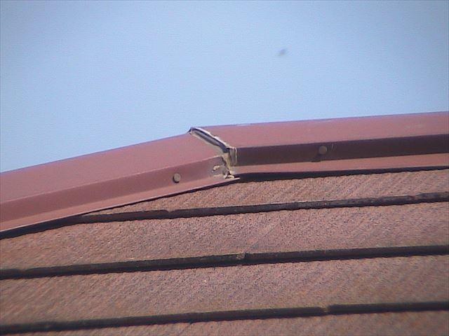 屋根板金部分
