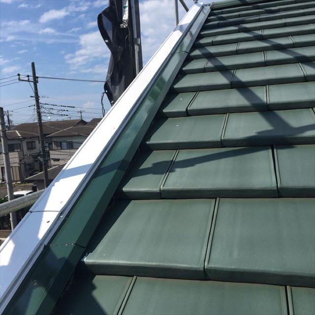 屋根板金塗装完了20190531
