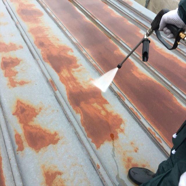 屋根洗浄20190601