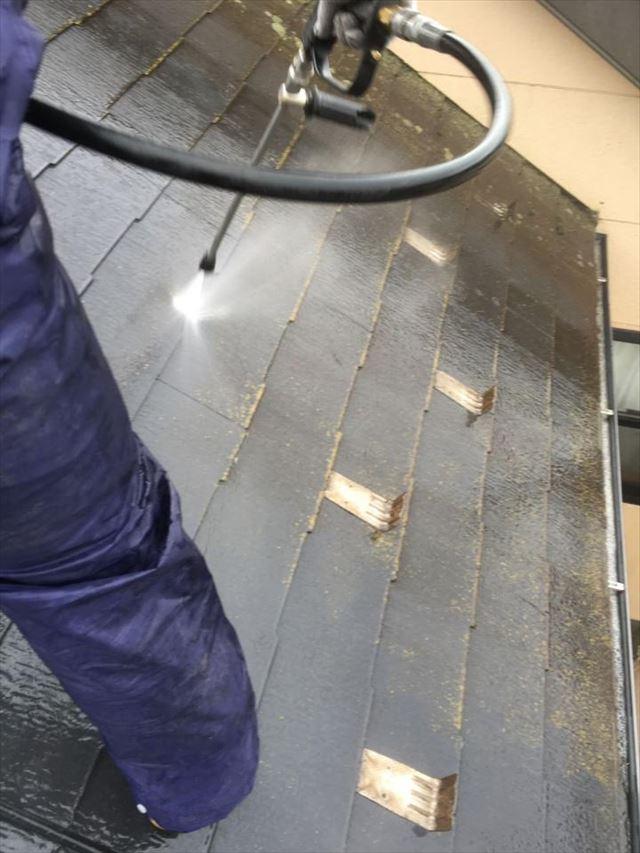 屋根洗浄20190703