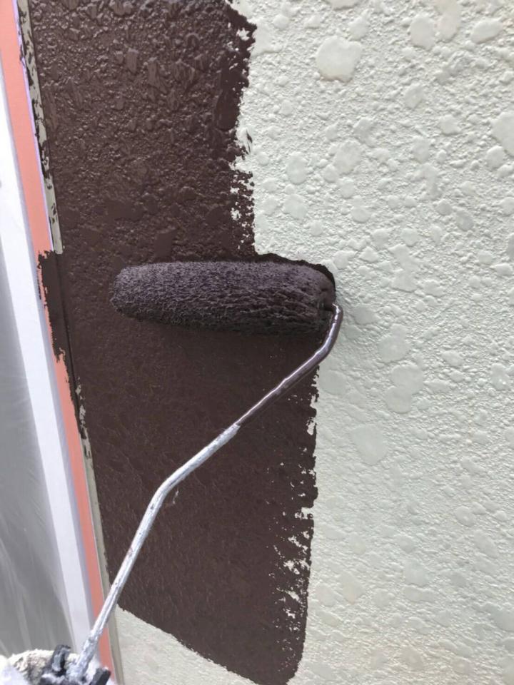 外壁中塗り20190602