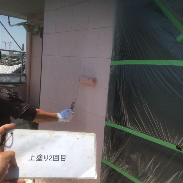 外壁上塗り2F20190413