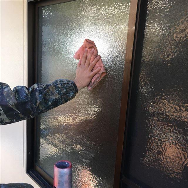 窓拭き20180418