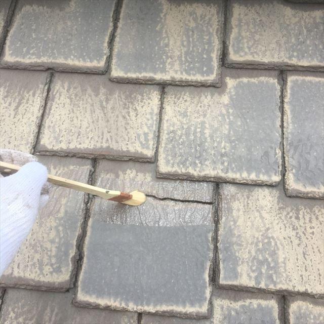 屋根補修プライマー塗布20190408