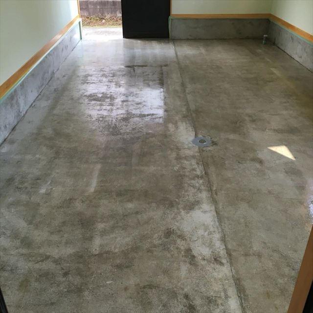 床下塗り完了20190420
