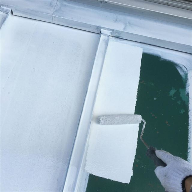 屋根下塗り20190417