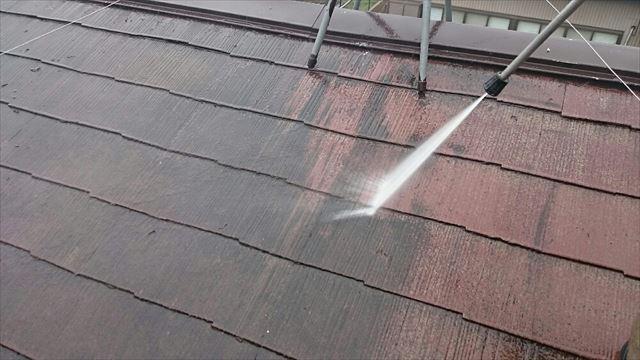 屋根洗浄20190624