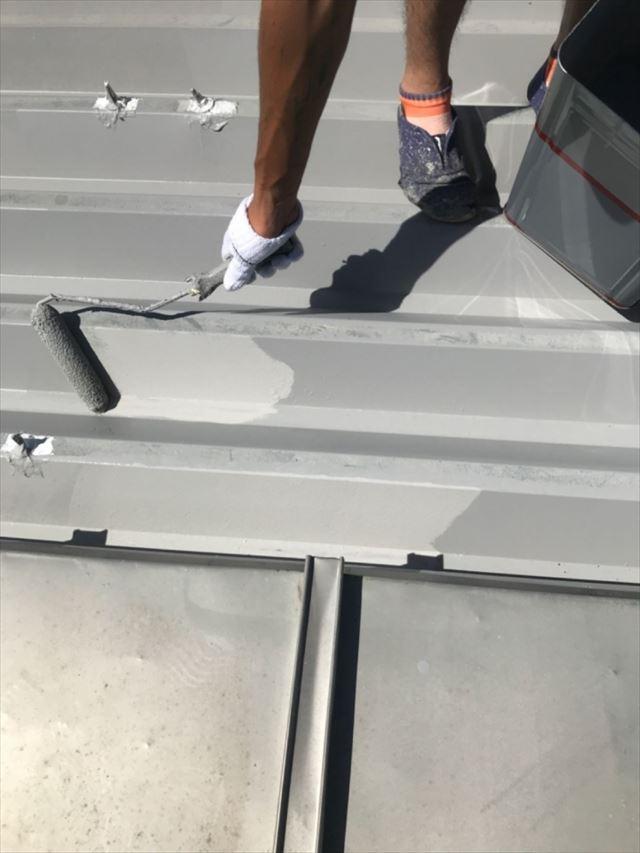 屋根下塗り20190701
