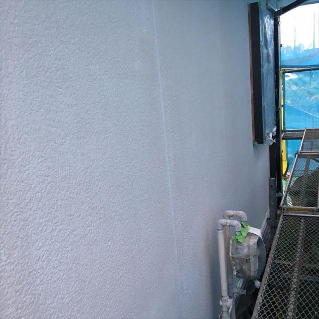 外壁下塗り完了20180304