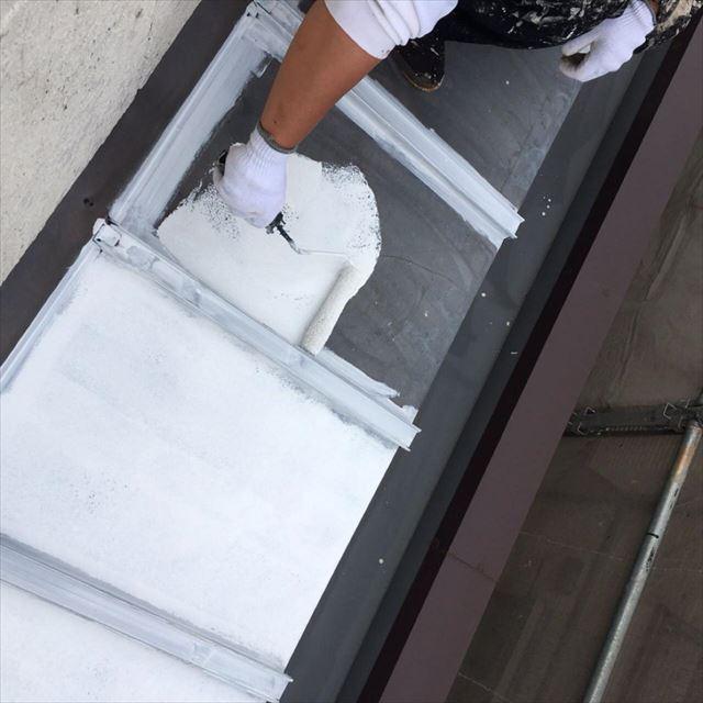 屋根下塗り20190601