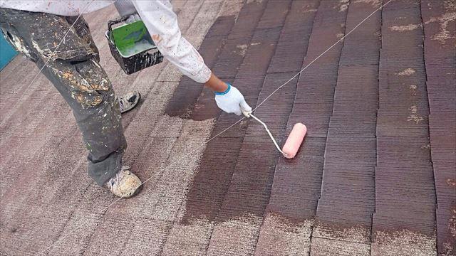 屋根下塗り20190624