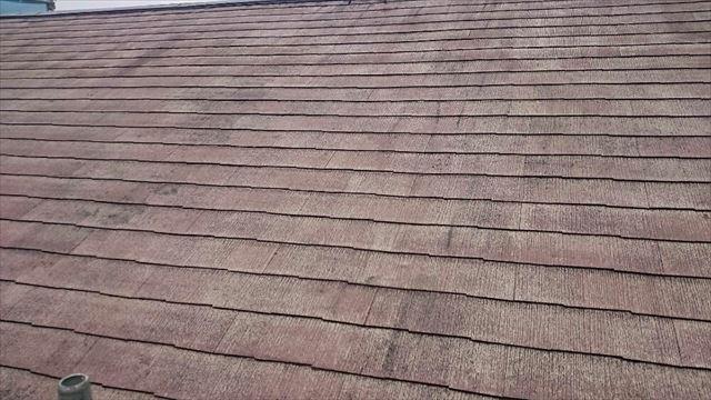 屋根下塗り完了20190624