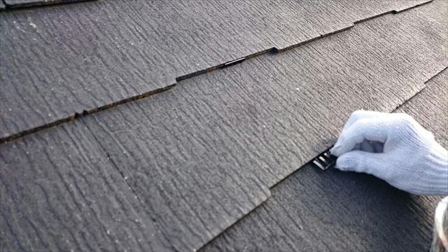 屋根タスペーサー取り付け20190703