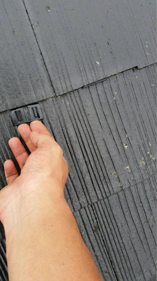 屋根タスペーサー取り付け20190602