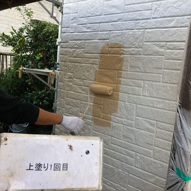 外壁中塗り20190501