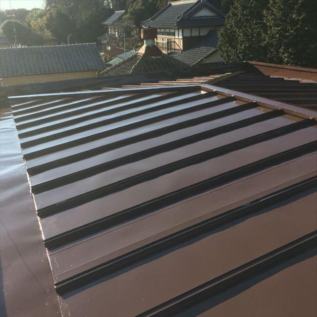 屋根塗装完了20190417