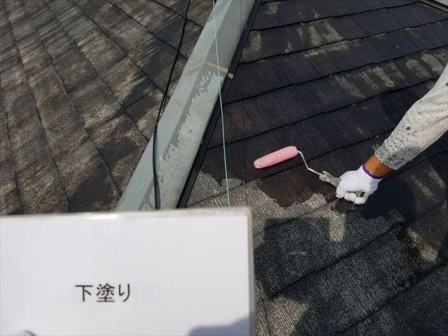 屋根下塗り20190323
