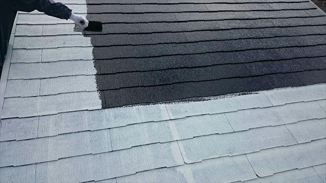 屋根中塗り20190703