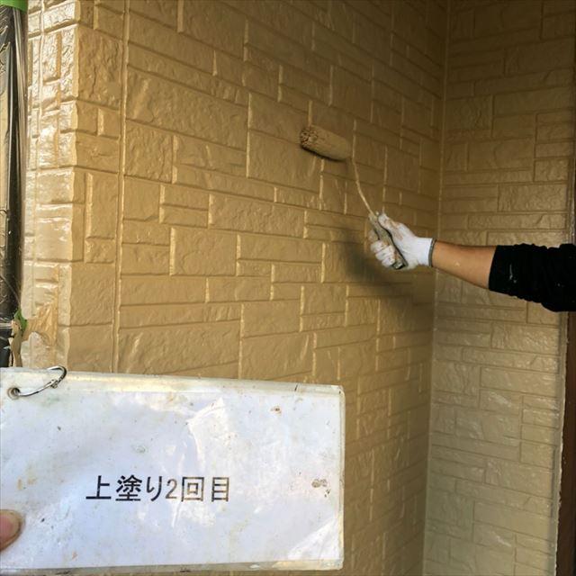 外壁上塗り20190501