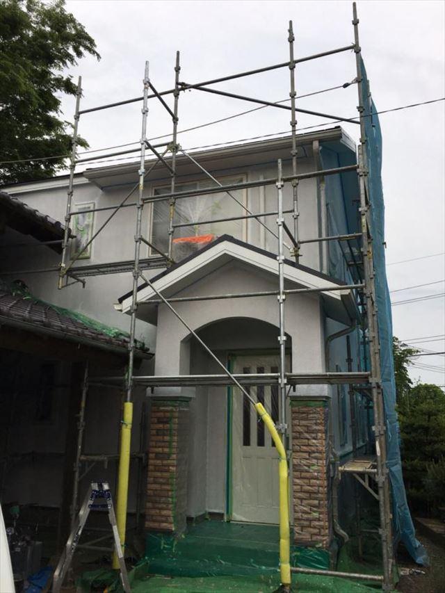 外壁上塗り20190302