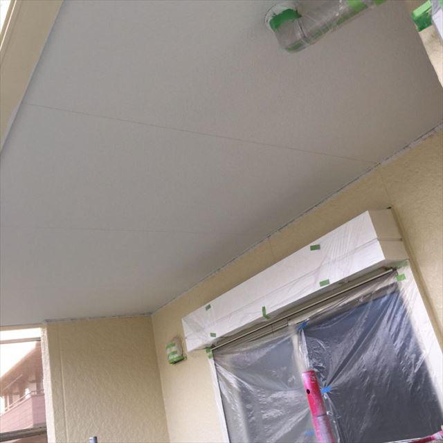 軒天塗装完了20190531