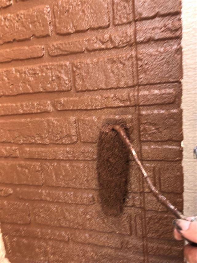 外壁上塗り20190704
