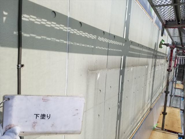 外壁下塗り完了20190429