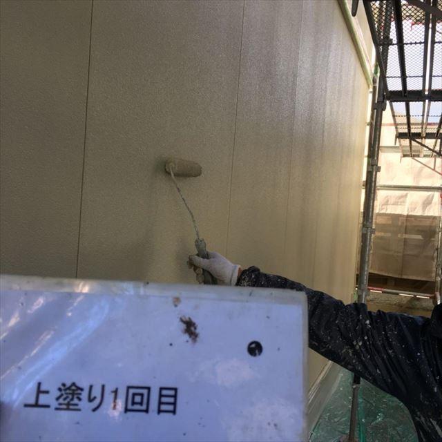 外壁中塗り20180418