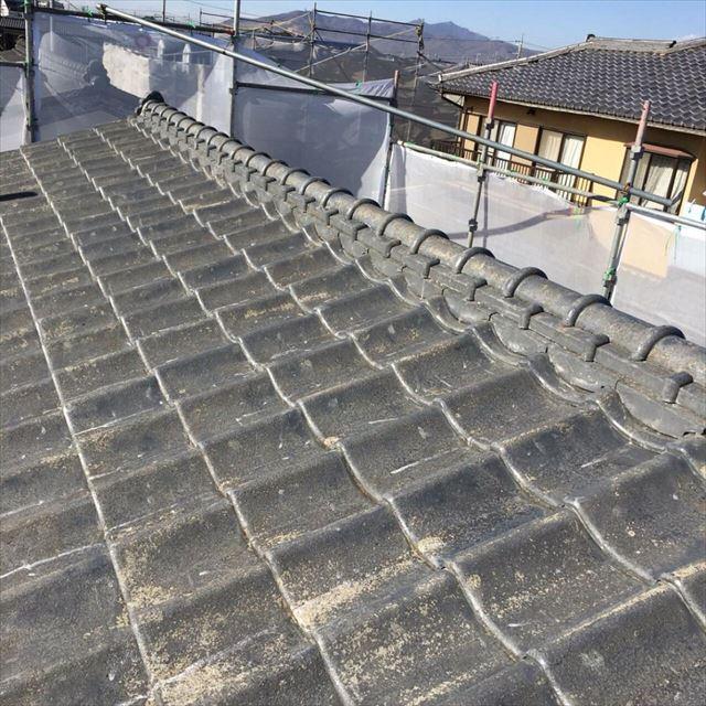 屋根下塗り完了20190301